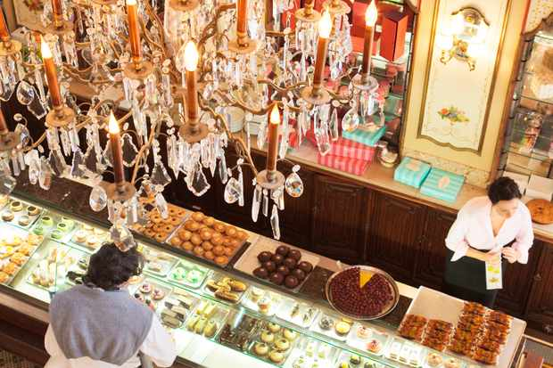 Biarritz confectionary shop
