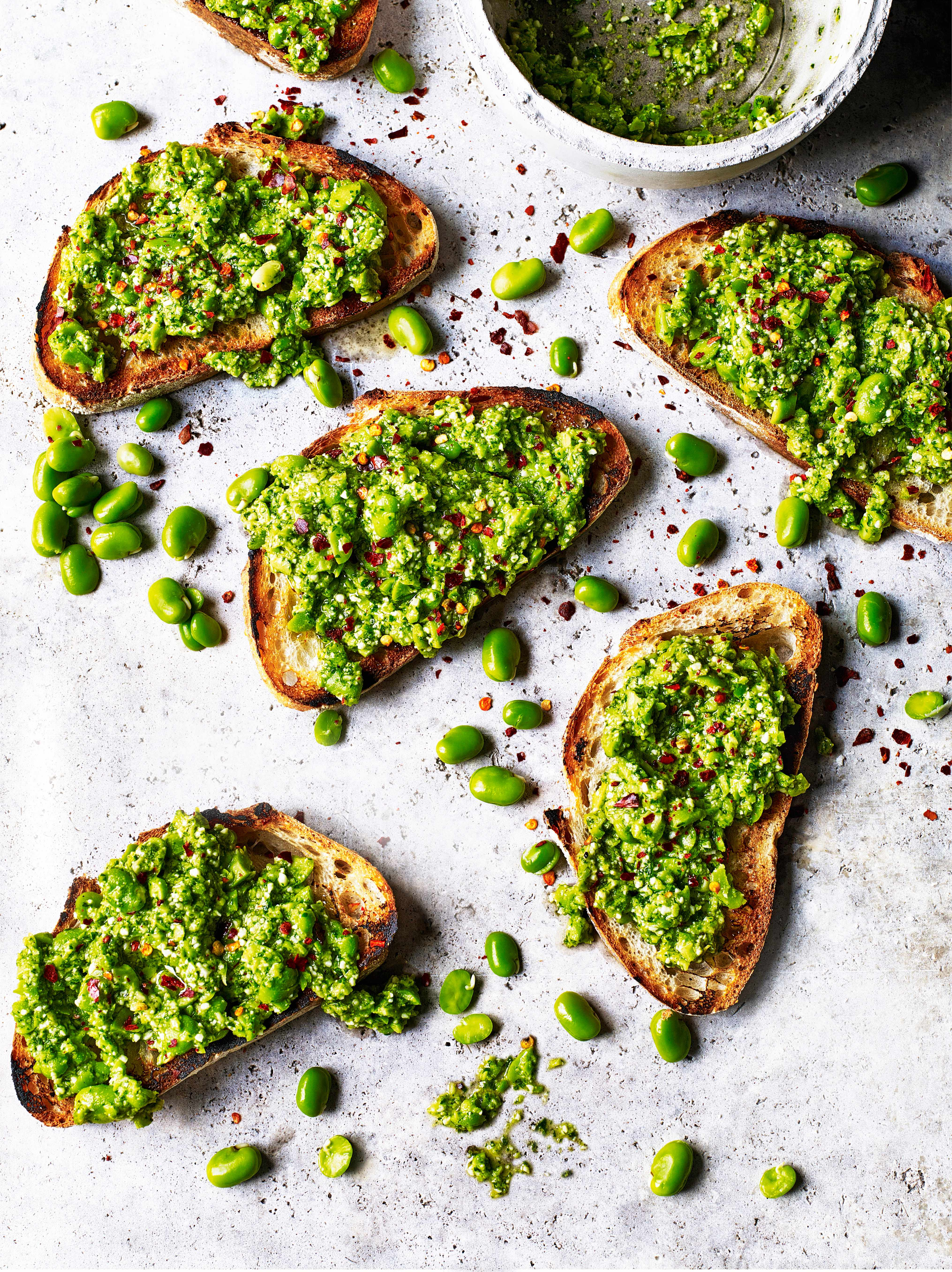 Broad Bean Toast