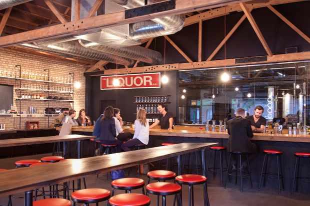 Tap room at Chicago Distilling Co_credit Kevin J. Miyazaki3