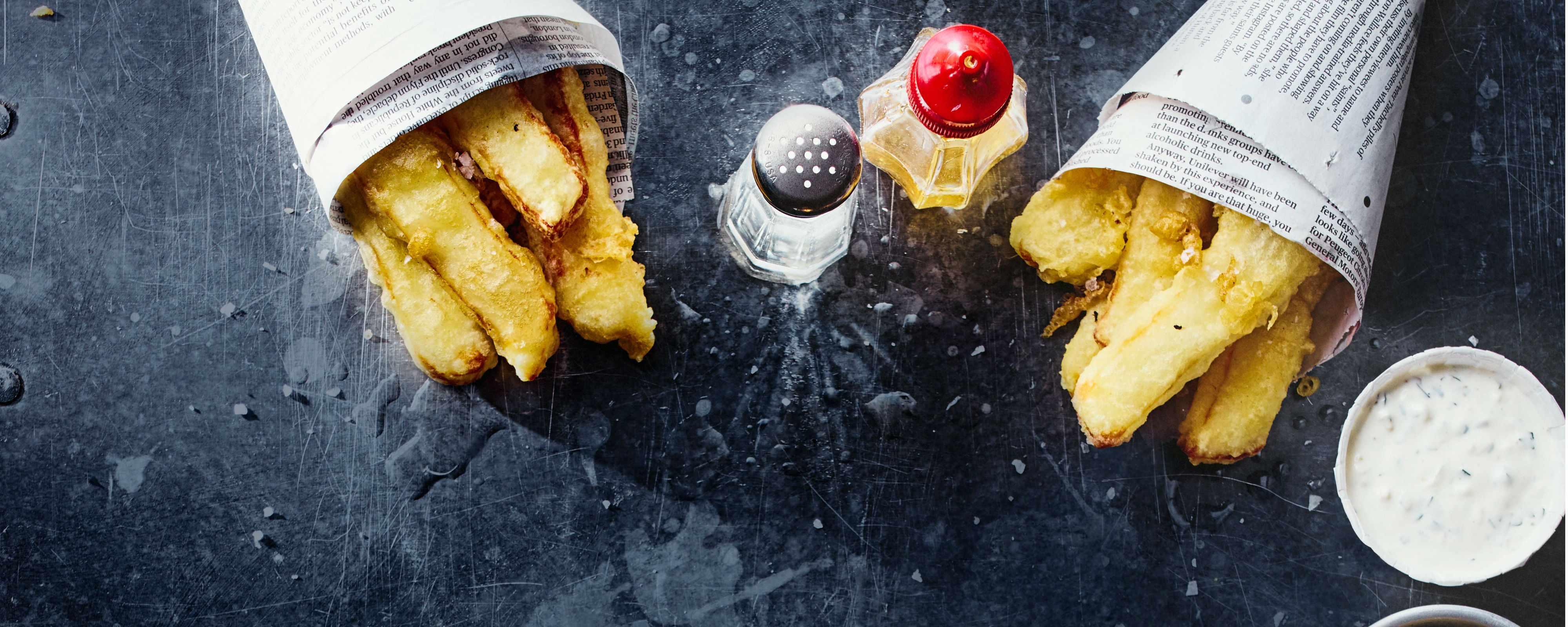 Fried Halloumi Recipe with Tartare Sauce