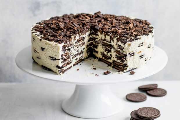 Oreo Baileys Icebox Cake Recipe