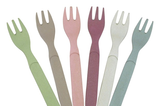 Bamboo forks - set of 6