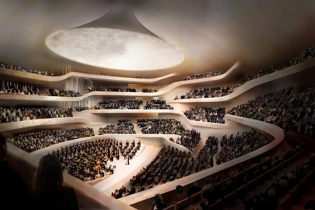 Elbphilharmonie concert hall