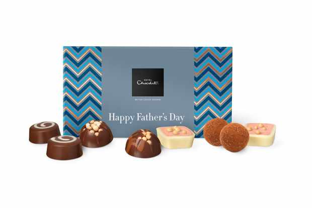 Hotel Chocolat Father's Day chocolate box