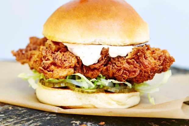 Butchies Fried Chicken Sandwich