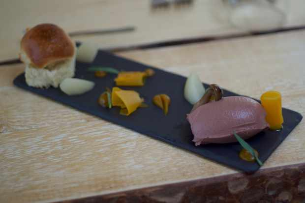 Chicken Liver Parfait with Pickles