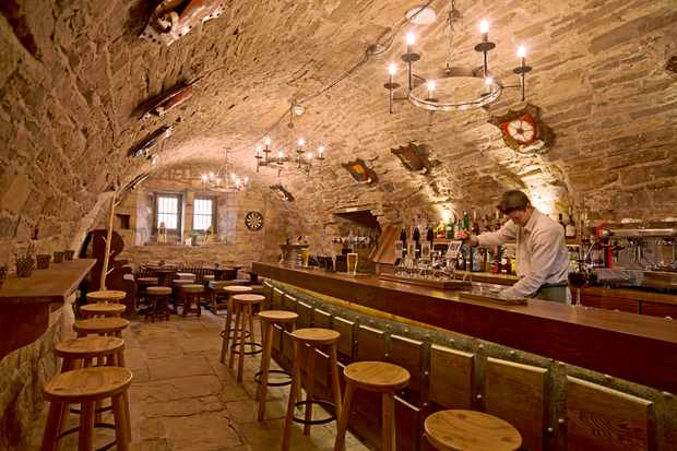 Crypt bar, The Lord Crewe Arms, County Durham