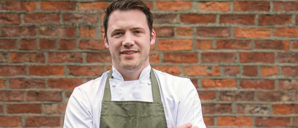 Professional image of chef Tommy Banks