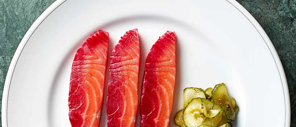 Beetroot Cured Salmon With Gin Recipe