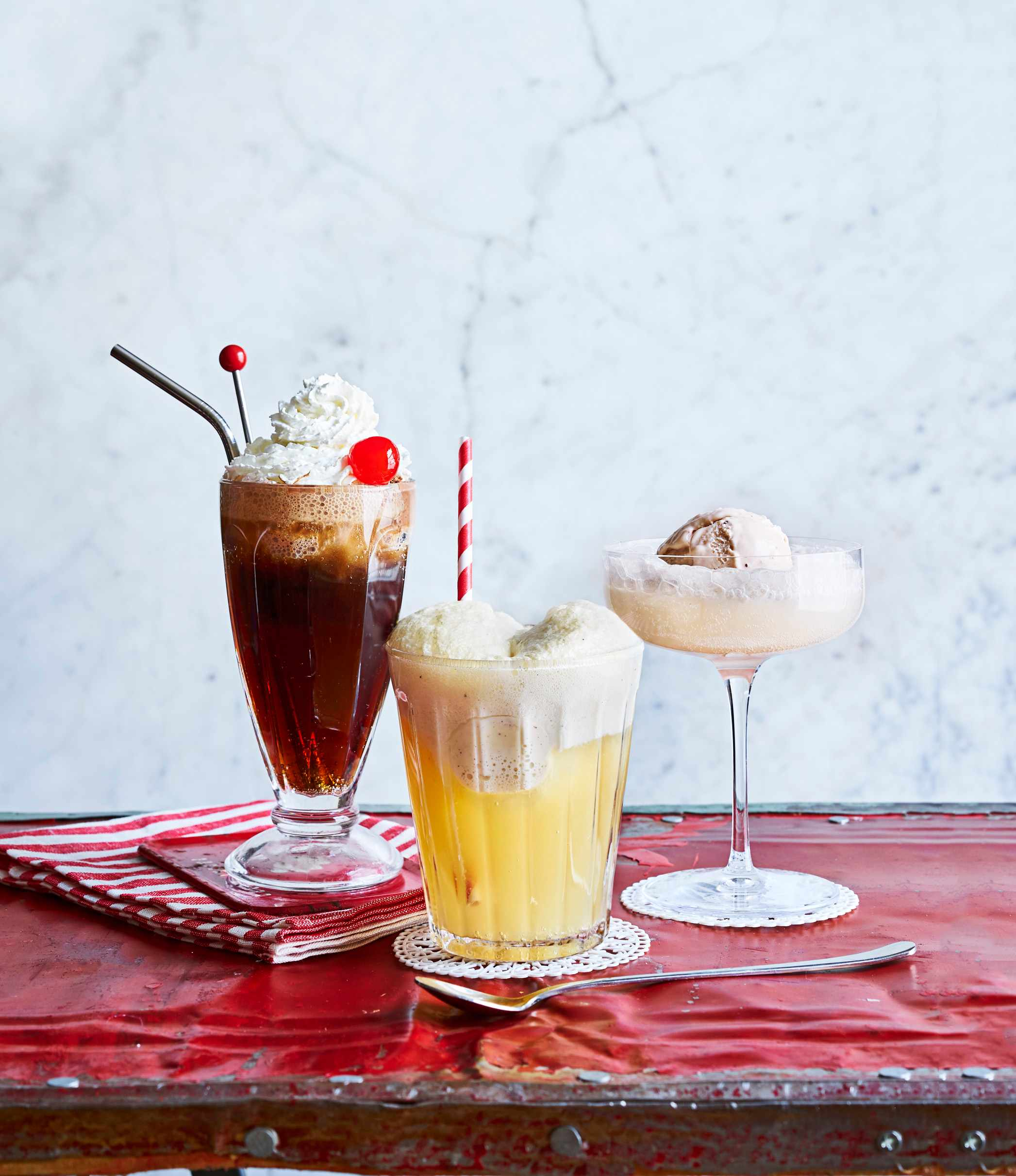 Ice Cream Float Cocktails