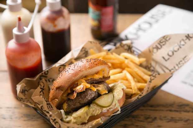 Lockhouse Paddington Burger