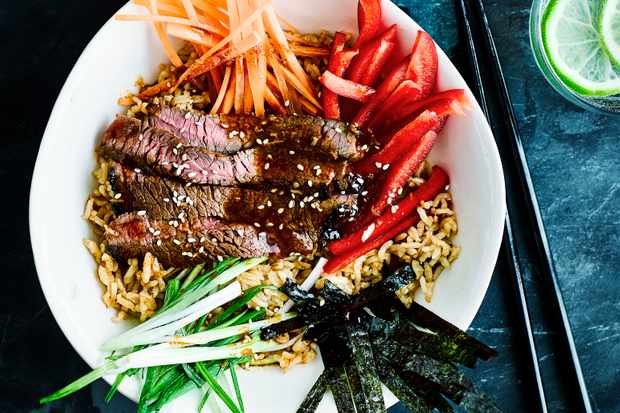 Korean Beef Bulgogi Bowl Recipe
