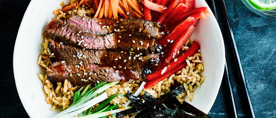 Korean Beef Bulgogi Bowl Recipe