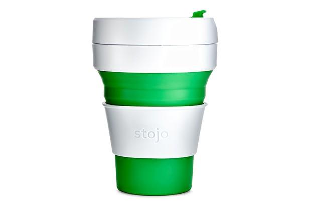 Oliver Bonas Stojo green coffee cup