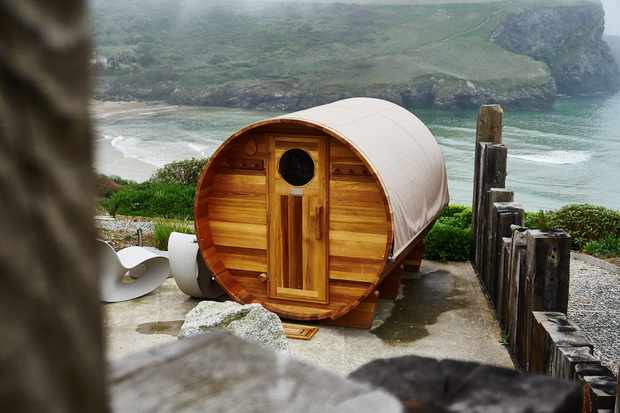 The Scarlet, North Cornwall - Outdoor sauna