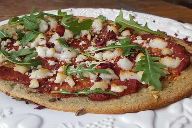 Home, Castle Cary - Quinoa Pizza