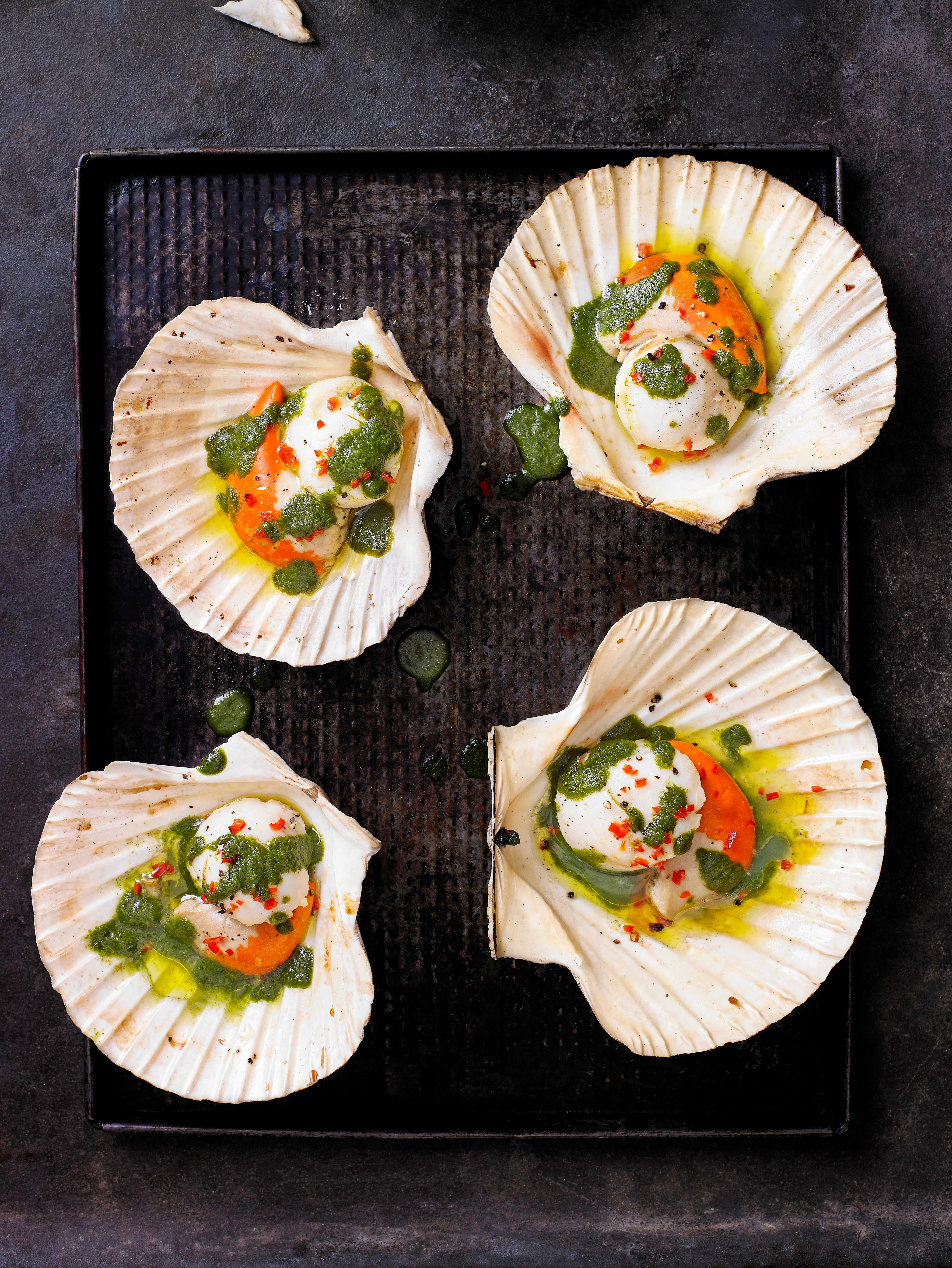 Scallops Recipe with Vietnamese Sauce