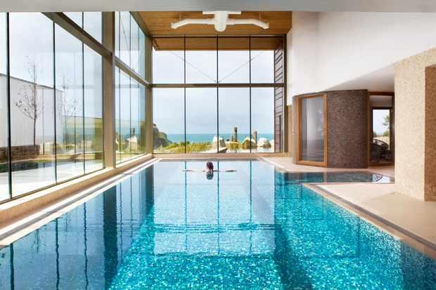 The Scarlet, North Cornwall - Spa - indoor pool