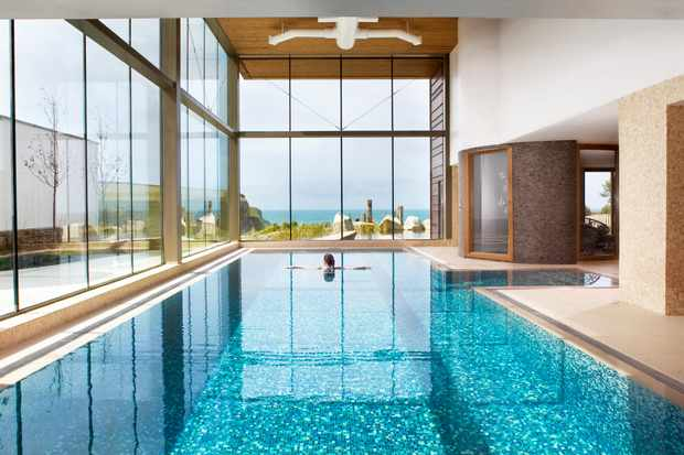 The Scarlet, North Cornwall - Spa - indoor pool