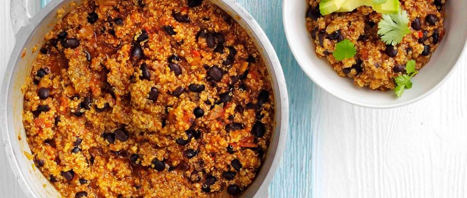 Easy Vegan Chilli Recipe with Quinoa