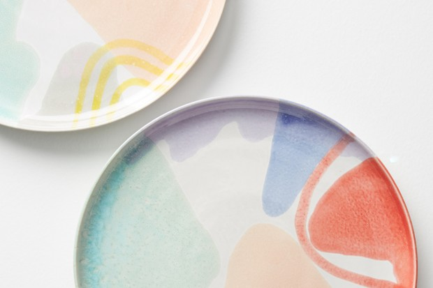 GEORGI DINNER PLATE ANTHROPOLOGIE