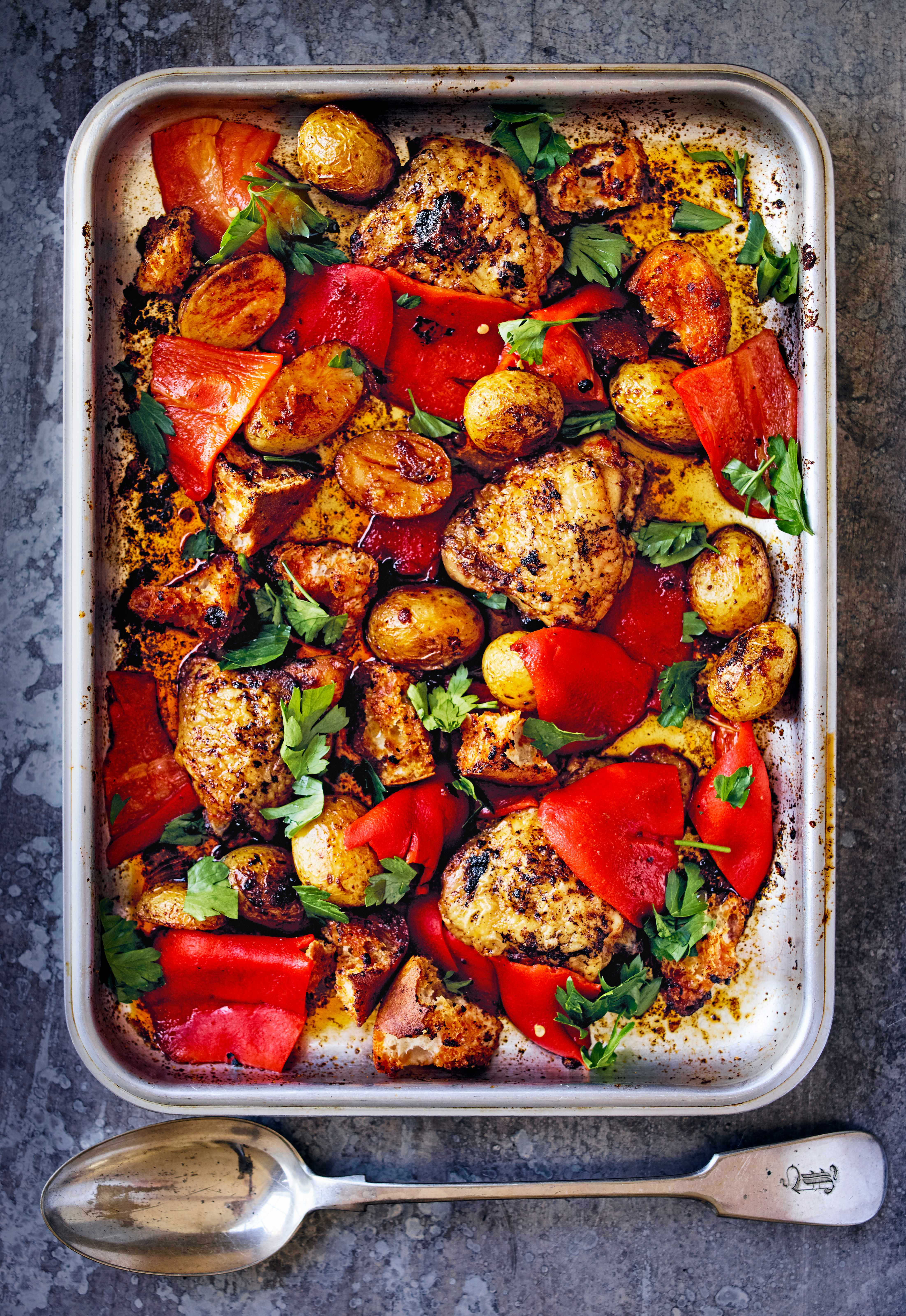 Chicken Tray Bake Recipes and Other Tray Bakes