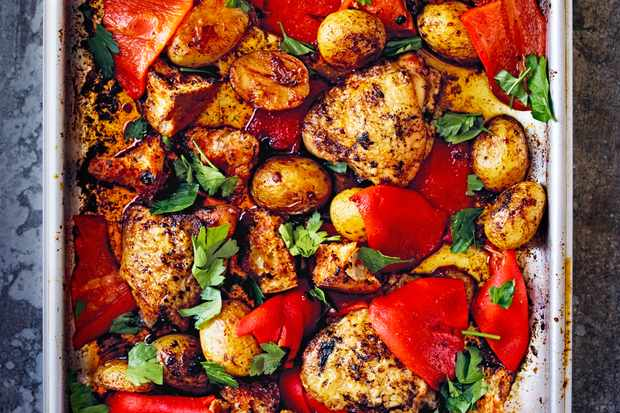 32 Chicken Tray Bake Recipes And Other Tray Bakes Olivemagazine