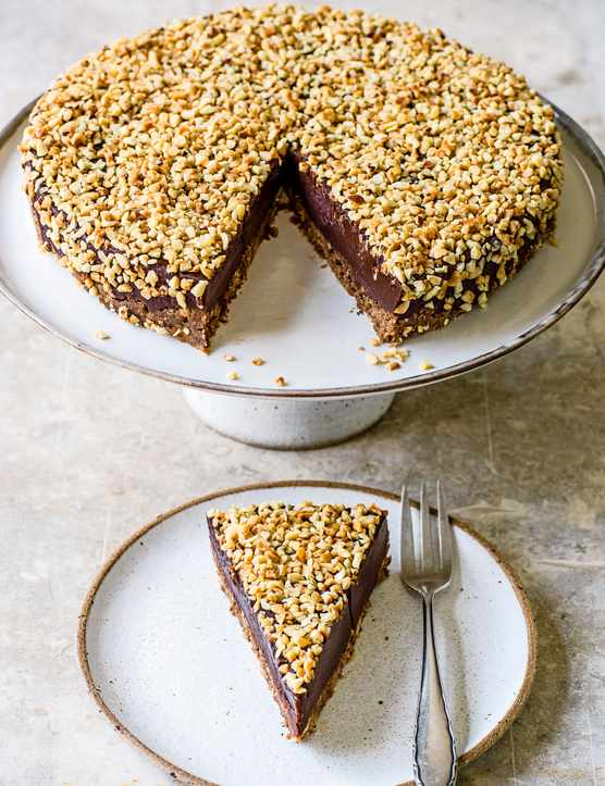 Rich chocolate and Hazelnut Torte