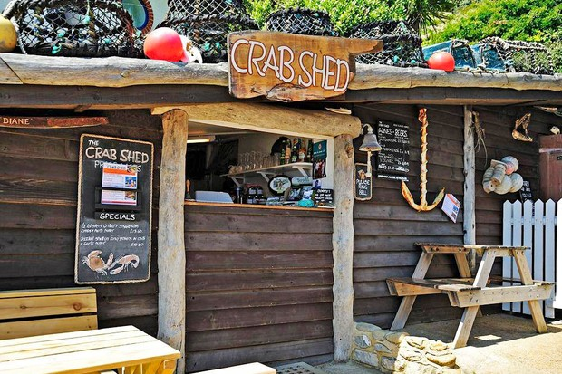 The Crab Shed Vintner, Isle of Wight