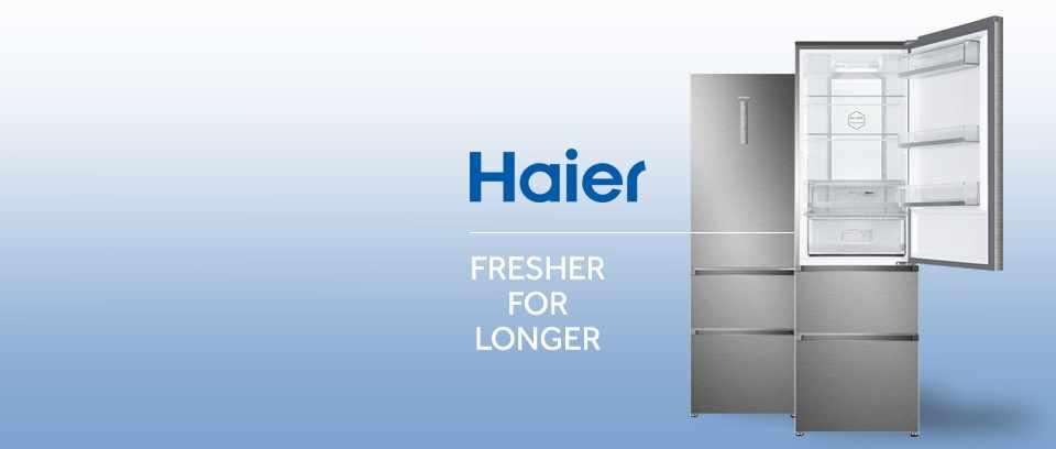 Win a Haier three-door combi fridge freezer
