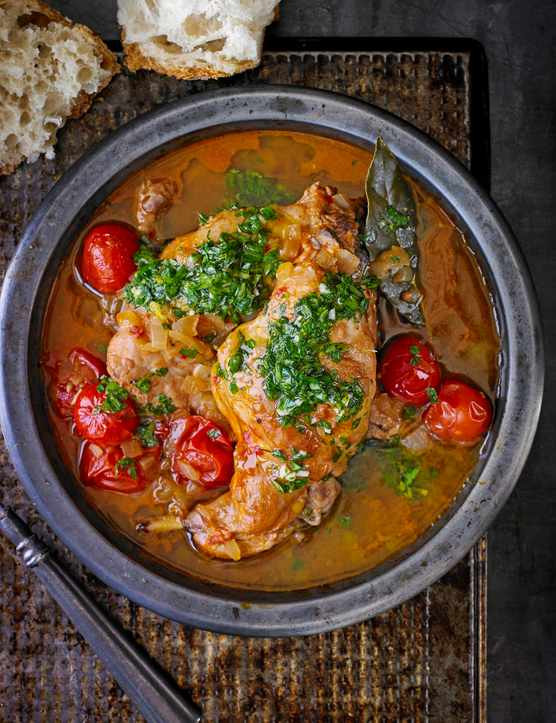 Try our versions of this Ischian Rabbit stew