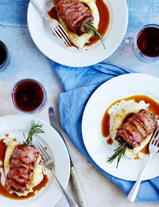 Calf's Liver With Pancetta and Rosemary Recipe