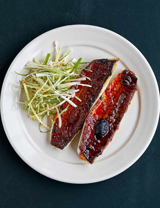Grilled Mackerel Recipe With Korean Chilli