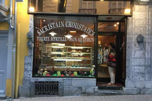 Chez Gillou bakery in Cauterets