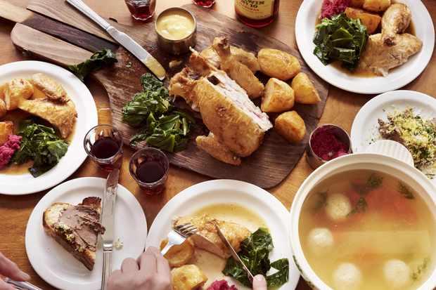 Monty's Deli Shabbat dinner