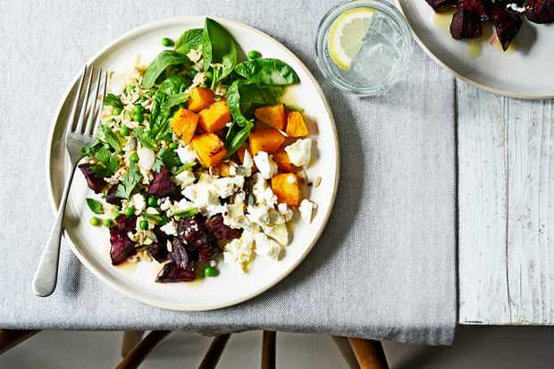 Beetroot, Squash and Feta Salad
