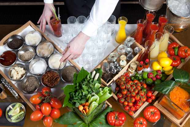 CUT at 45 Park Lane Bloody Mary Station