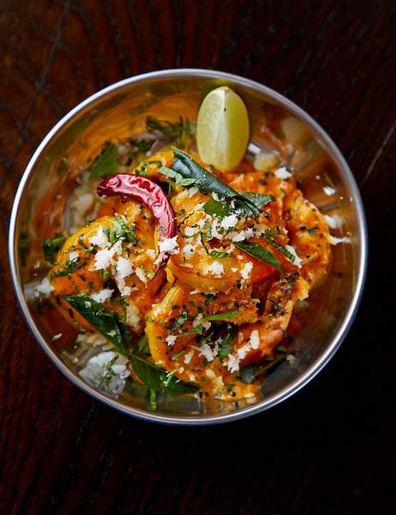 Andhra prawn fry - Dum Biryani House