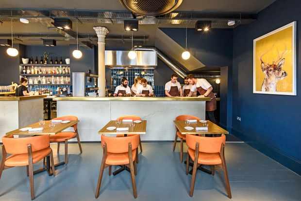 Etch, Brighton - inside the restaurant
