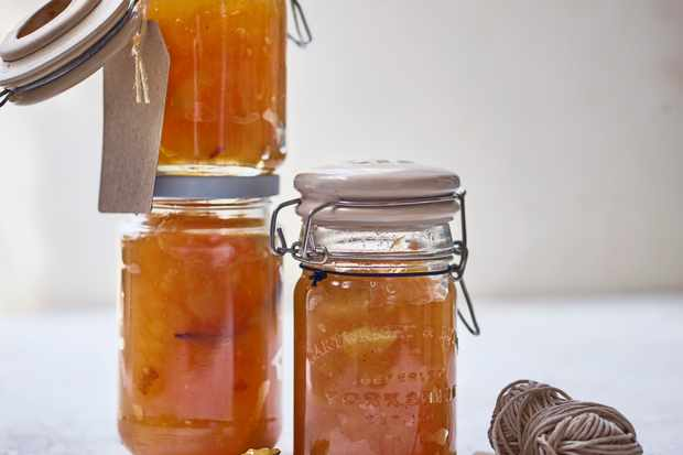 Pear and vanilla jam images