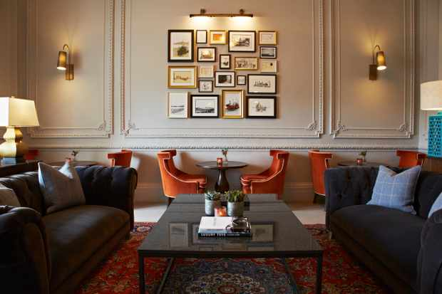 The Dunstane Houses, Edinburgh - Lounge image