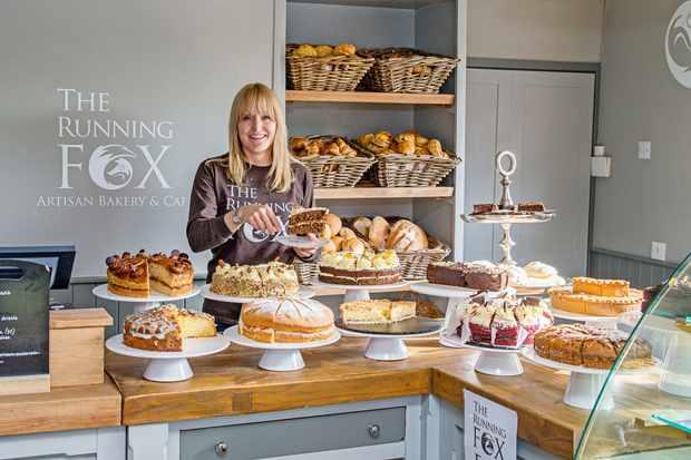 Running Fox Bakery, Felton, Northumberland