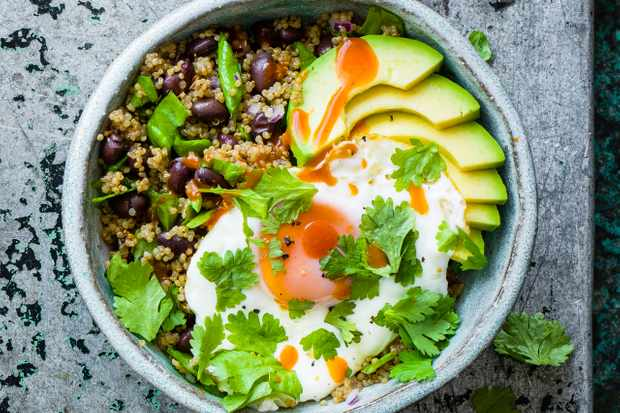 Santa fe quinoa bowl