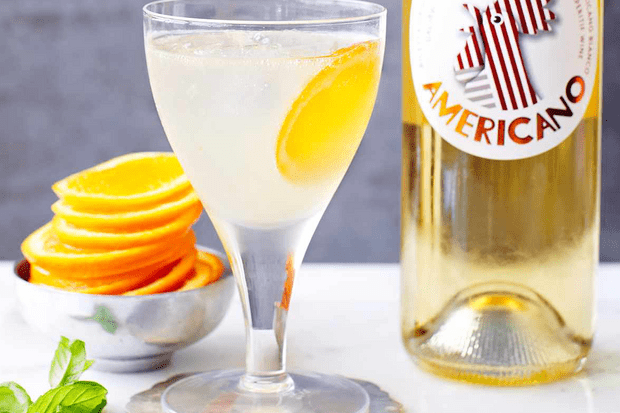 The new spritz - Cocchi Americano spritz with grapefruit juice and prosecco