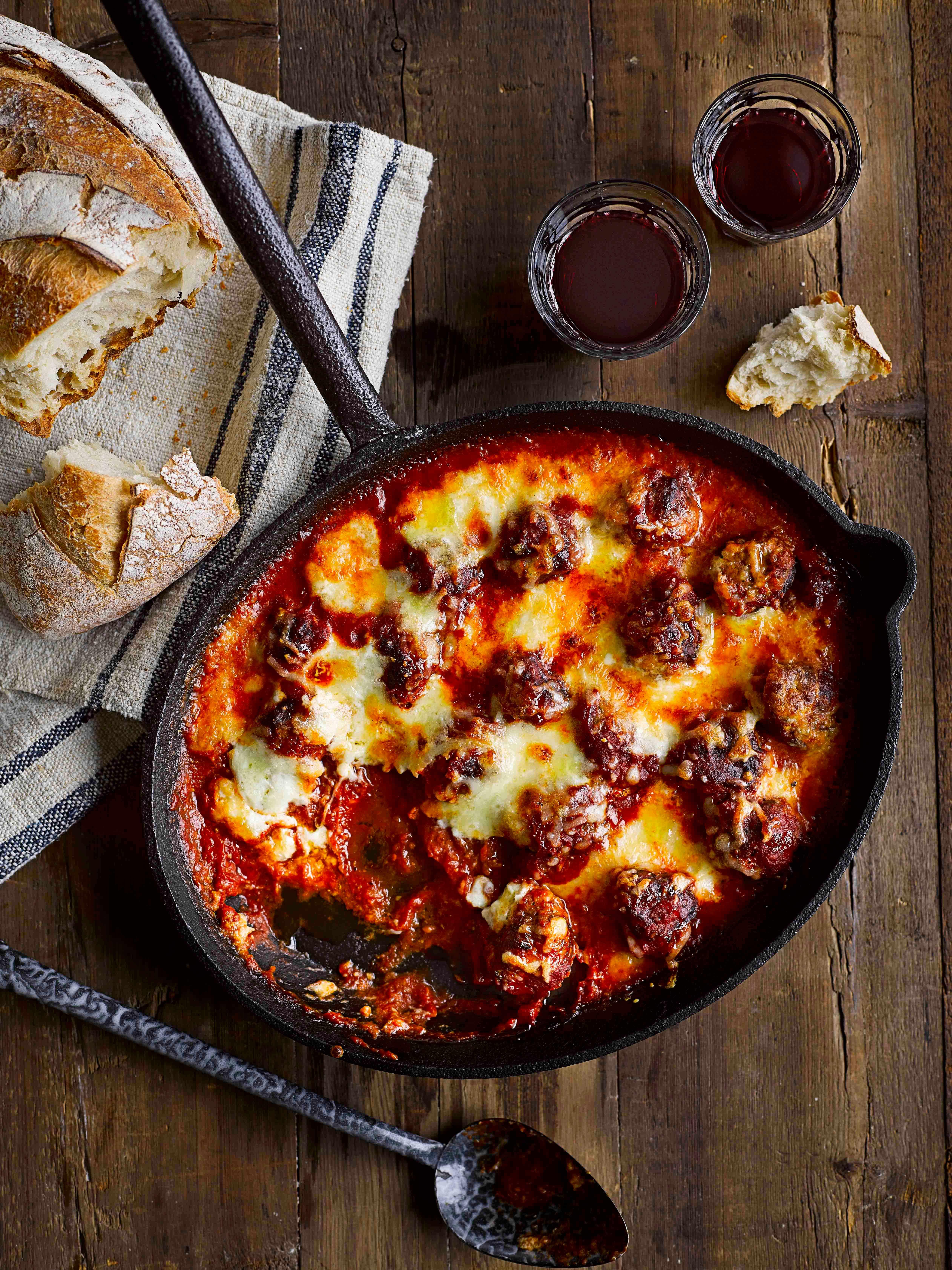 Meatball Recipe With Mozzarella