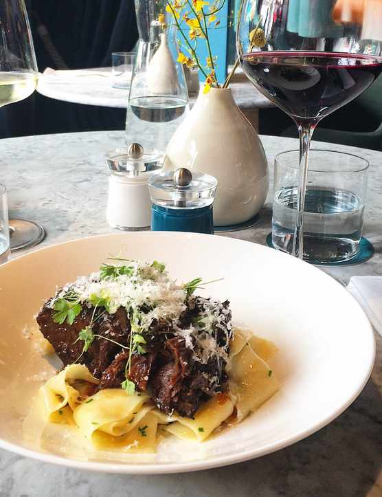 Pascere Brighton Menu Beef Pappardelle
