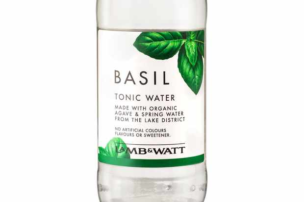 Lamb and Watt Basil tonic