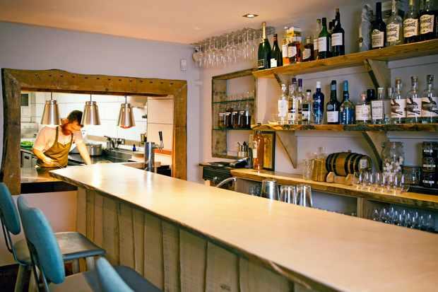 Norse, Harrogate restaurant - interior (bar)