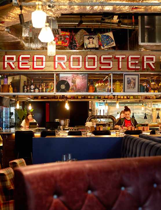 Red Rooster, Shoreditch, London