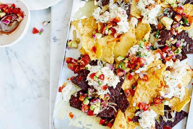 Nachos Recipe with Crab Recipe